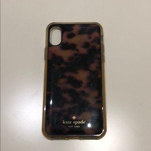 Kate Spade Tortoiseshell iPhone X 10 Case